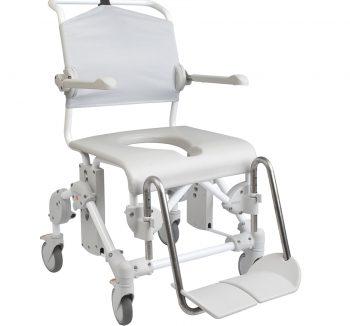 Swift Mobile Hasta Tuvalet Banyo Sandalyesi hem kullanıcılar hem de refakatçi/bakıcılar için son derece kullanışlı, güvenli ve sağlam bir üründür.