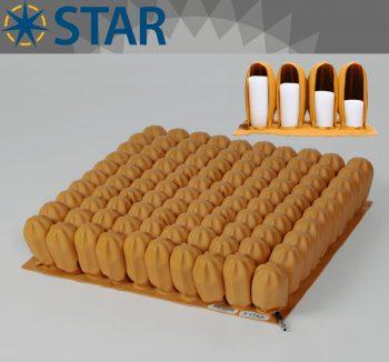 Star Stabil-Air 10cm Tekerlekli Sandalye Minderi
