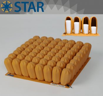 Star Stabil-Air 13cm Tekerlekli Sandalye Minderi