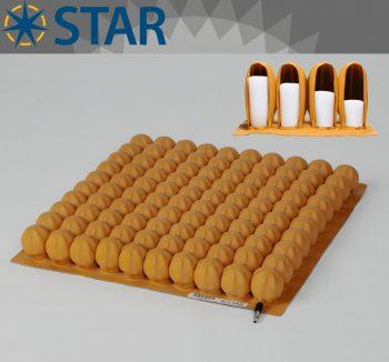 Star Stabil-Air 5cm Tekerlekli Sandalye Minderi