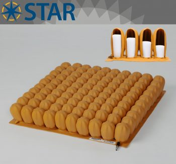 Star Stabil-Air 7.5cm Tekerlekli Sandalye Minderi