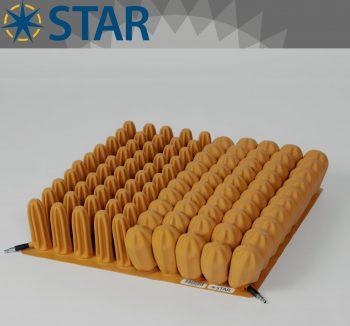Star 10cm Tekerlekli Sandalye Minderi