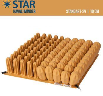 "Star Standart-2 4"" Havalı Minder | 10cm"
