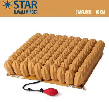 "Star Starlock 4"" Havalı Minder | 10cm"